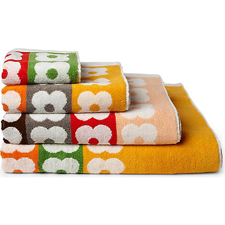 ORLA KIELY Multi flower stripe towels