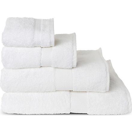SHERIDAN Luxury Egyptian snow towels