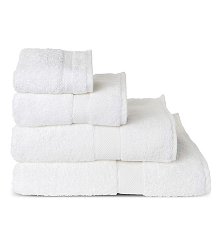 SHERIDAN Luxury Egyptian snow towels