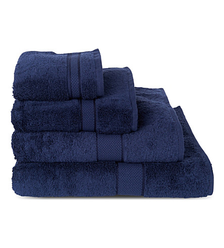 SHERIDAN Luxury Egyptian British navy towels