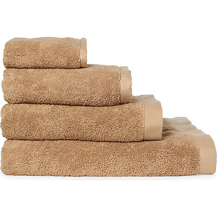 SELFRIDGES Caramel towels