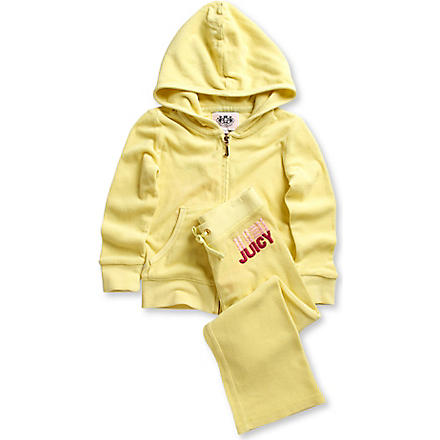 JUICY COUTURE Triple logo tracksuit 2-6 years