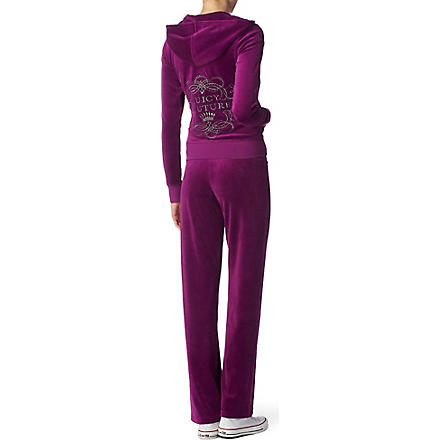 JUICY COUTURE Logo-back tracksuit