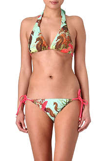 TED BAKER Under the sea triangle bikini