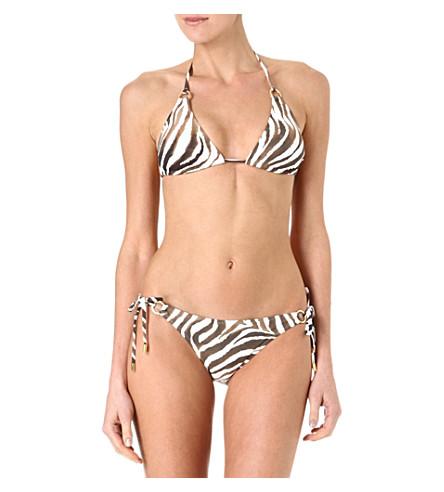 MELISSA ODABASH Palm triangle bikini