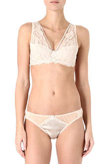 MIMI HOLLIDAY Sticky Toffee Pudding plunge bra range