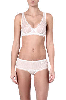 MIMI HOLLIDAY Meringue super plunge bra range