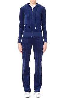 JUICY COUTURE J-Bling velour tracksuit
