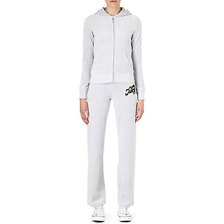 JUICY COUTURE Fancy Script velour tracksuit