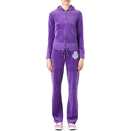 JUICY COUTURE Snowflake velour tracksuit