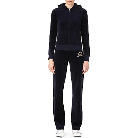 JUICY COUTURE Overground velour tracksuit