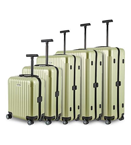 RIMOWA Salsa Air four-wheel suitcase range
