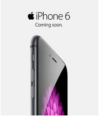 COMING SOON: APPLE IPHONE 6