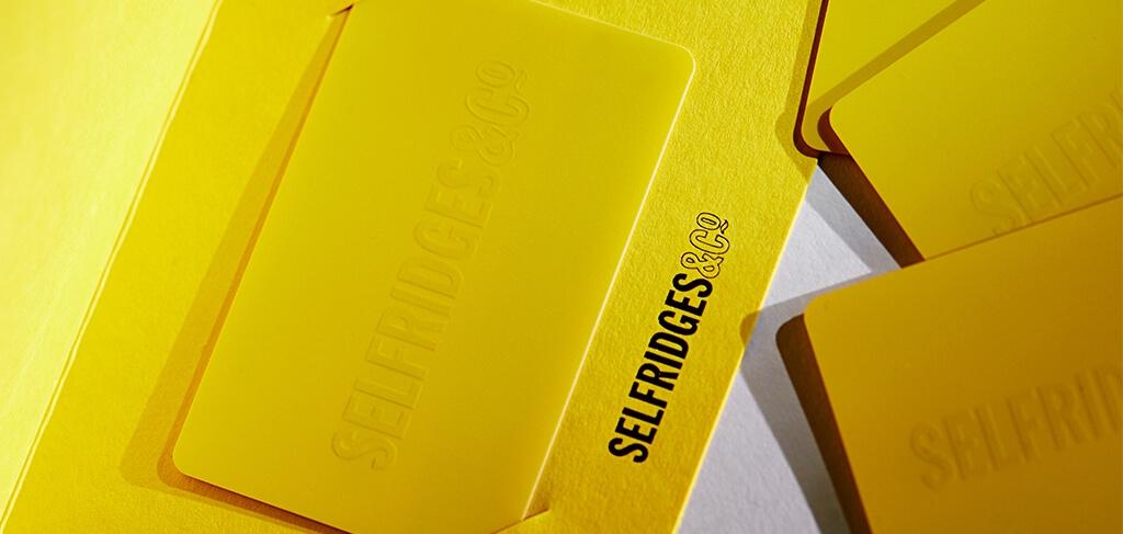 Gift Card Info Selfridges