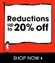 Reductions - up to 20% off - shop now