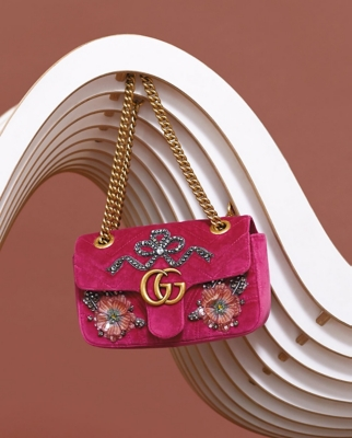 A Gucci Marmont bag