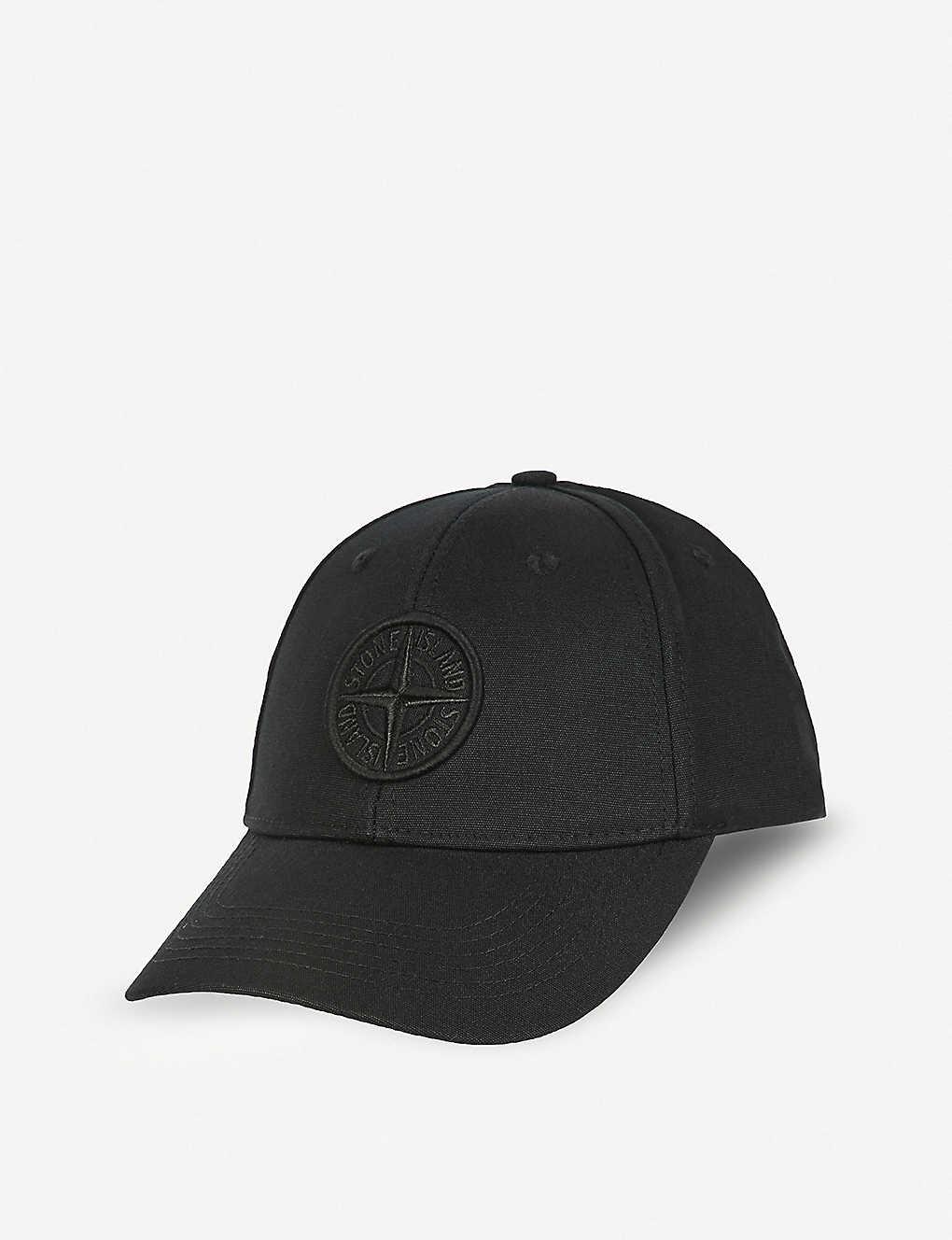 STONE ISLAND - Logo-detail baseball cap  2dafcf85a605