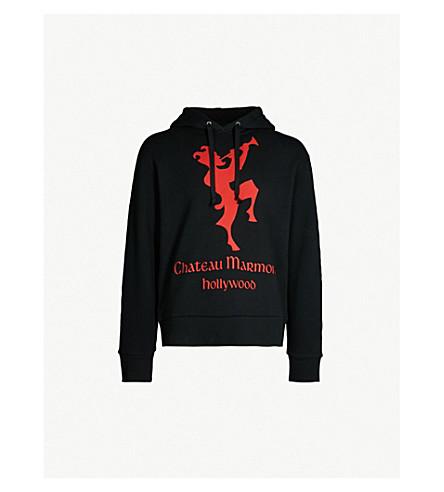 29a483e0363f7 GUCCI - Chateau Marmont cotton-jersey hoody   Selfridges.com