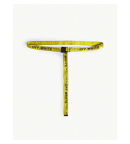... OFF-WHITE C O VIRGIL ABLOH Industrial belt (Yellow. PreviousNext 3a8f243d8b13