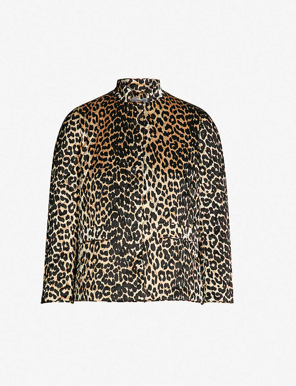 d8d425e7 Ganni jakke leopard