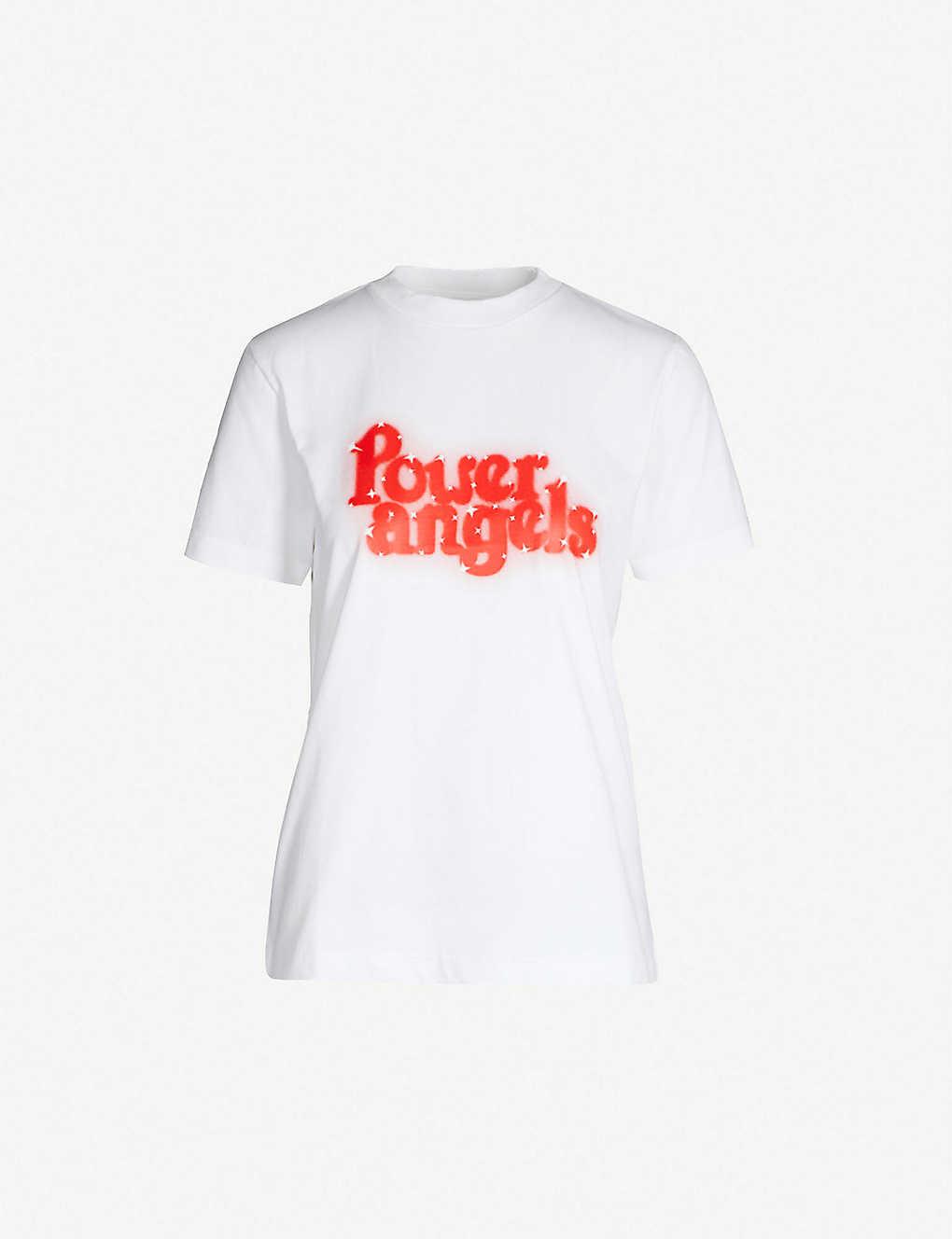 3750e739c2f4 GANNI - Harris printed cotton-jersey T-shirt
