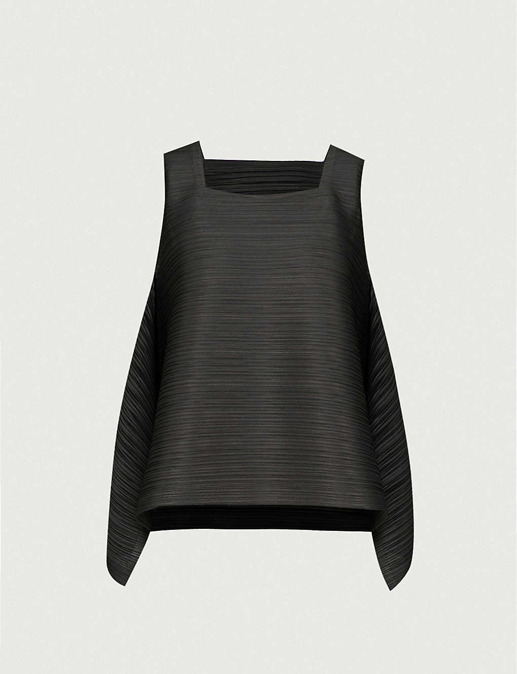 d0305ccaedc02 PLEATS PLEASE ISSEY MIYAKE - Asymmetric pleated top