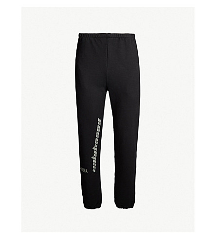 Season 8 Logo Print Cotton Jersey Jogging Bottoms by Yeezy