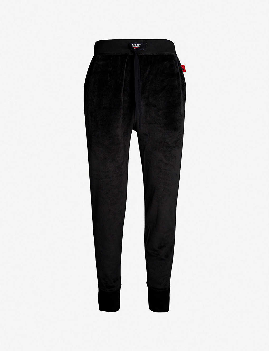POLO RALPH LAUREN - Tapered velour jogging bottoms   Selfridges.com 778c0cfb8d2
