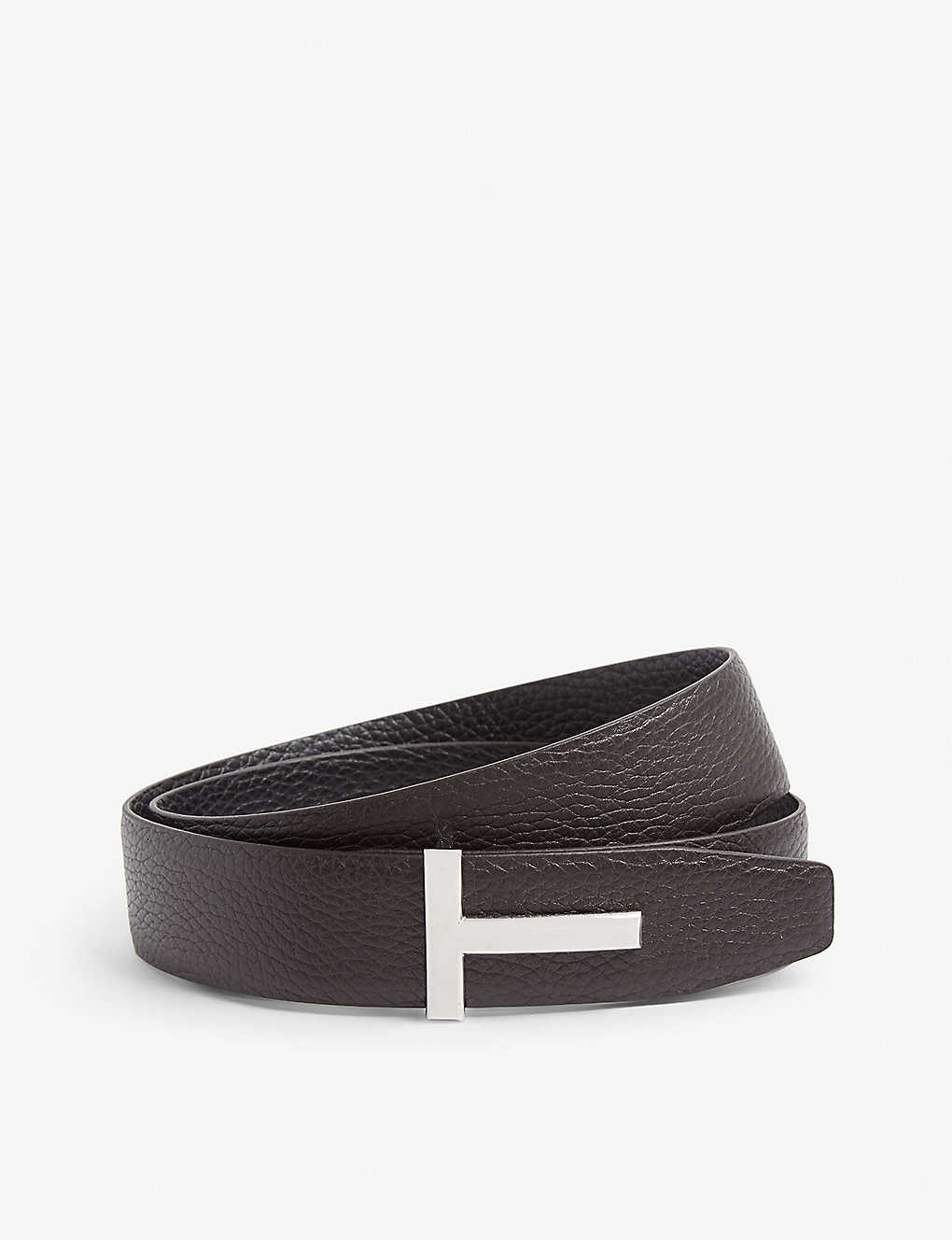2aa8dbff997 TOM FORD - Reversible leather belt