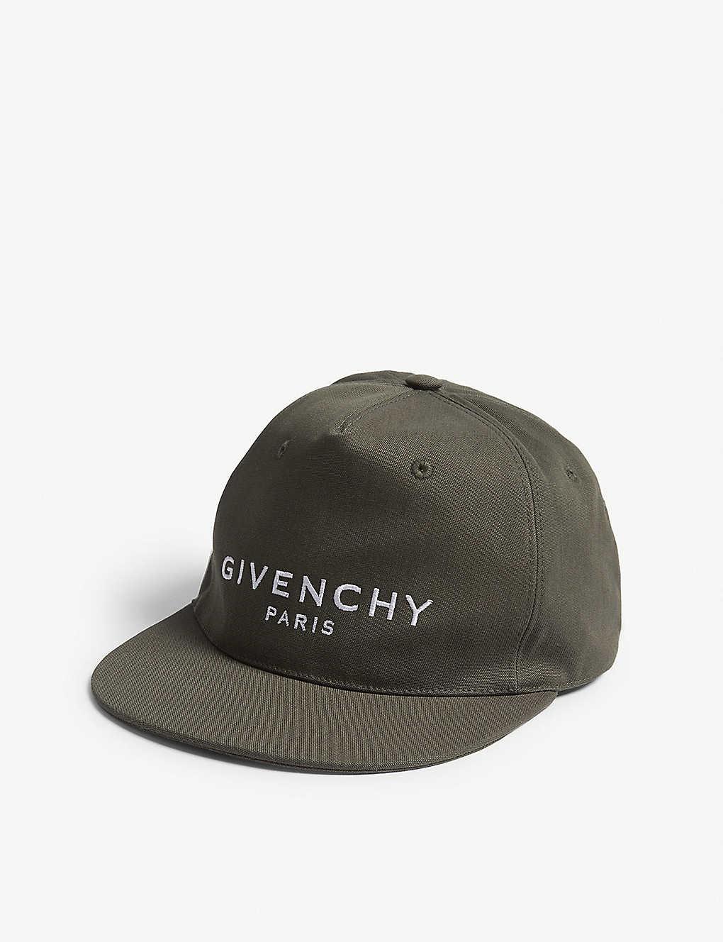b4c61c281ec GIVENCHY - Paris logo cap