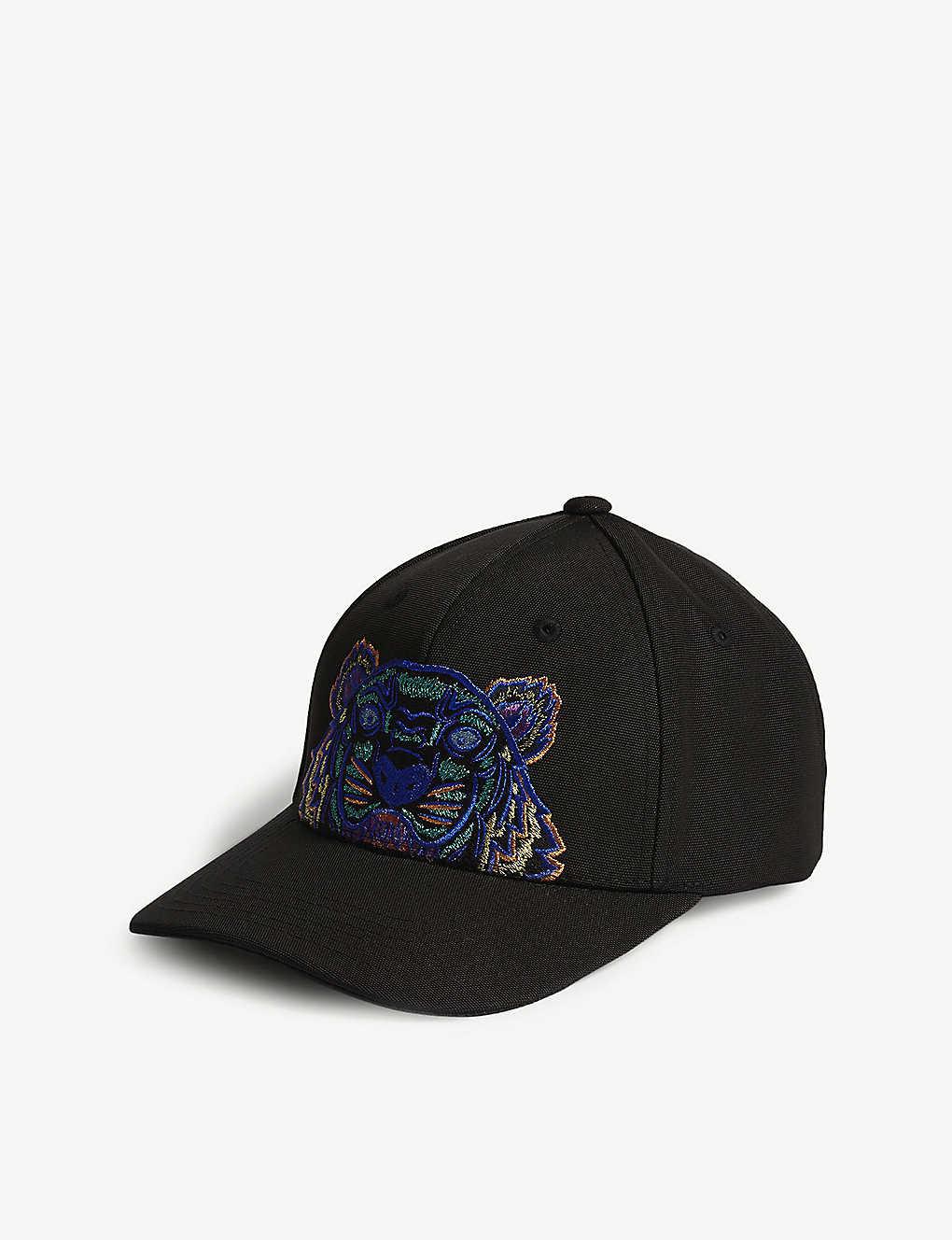 a3dd6edd1c8 KENZO - Tiger canvas cap