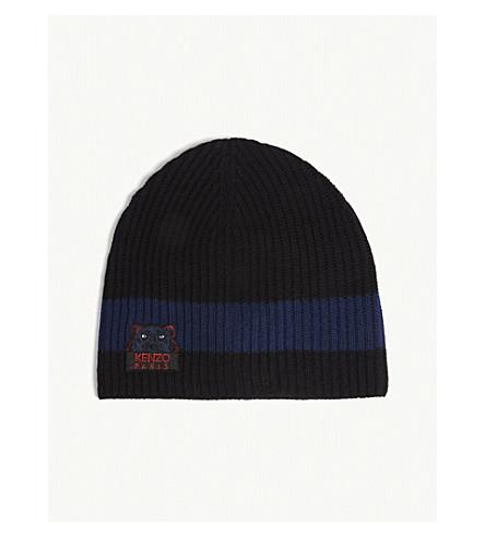 KENZO - Wool knit beanie  17a6ac389f9