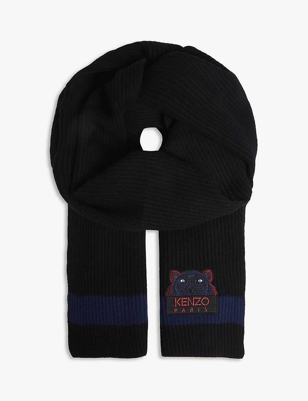 KENZO - Wool knit scarf   Selfridges.com 5fc61186c23