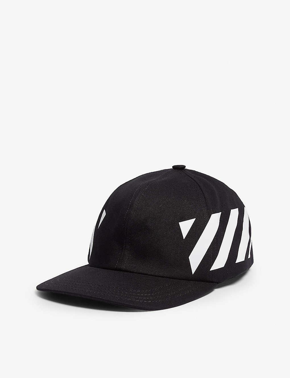 OFF-WHITE C O VIRGIL ABLOH - Logo-print cotton snapback cap ... b0cea8c1789