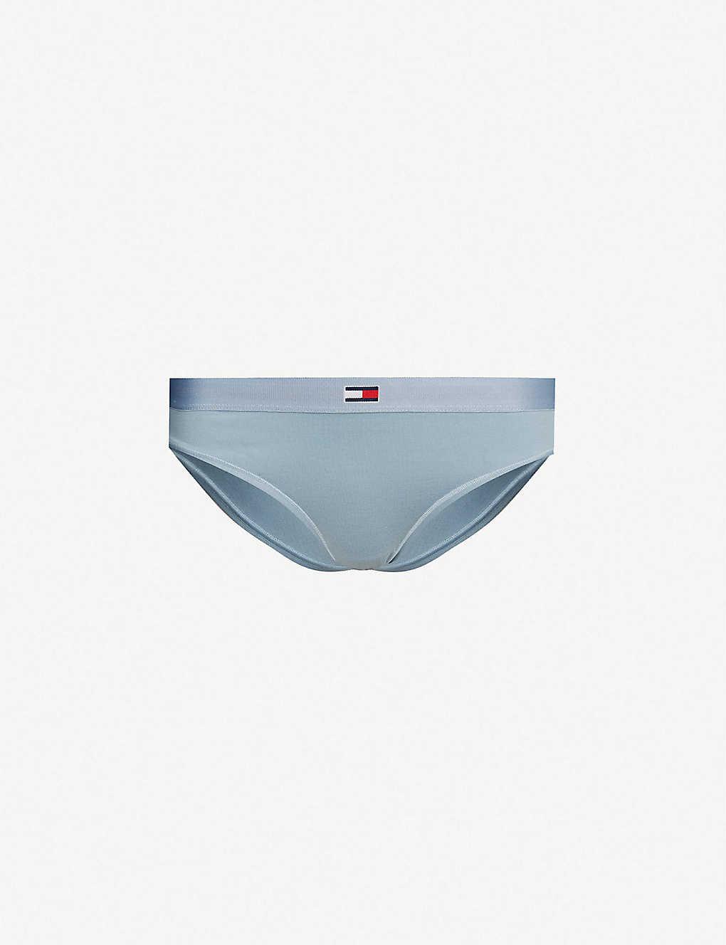 db72bd1dd6556 TOMMY HILFIGER - Logo-detail stretch-jersey bikini briefs ...