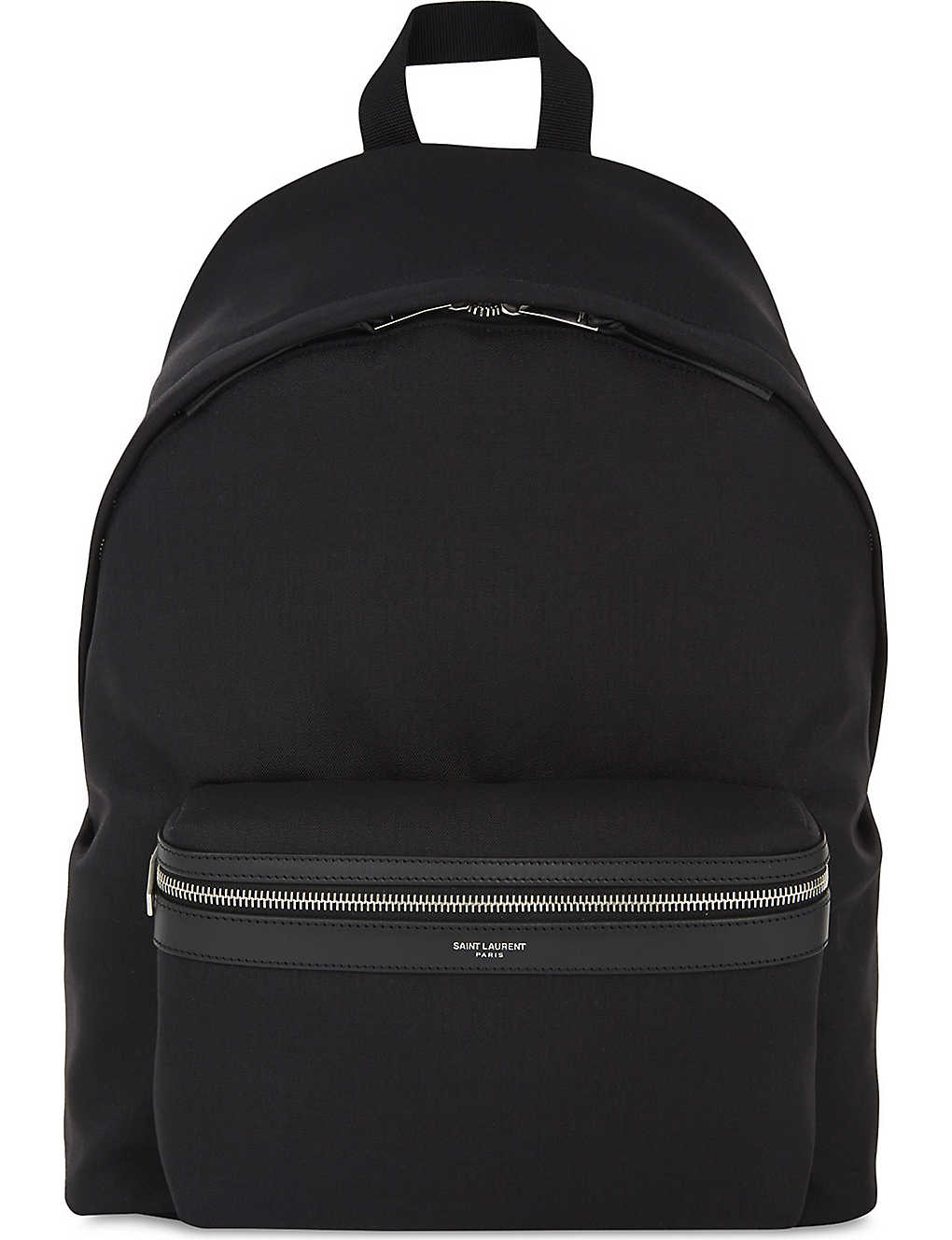 3a8a09bb022d SAINT LAURENT - City nylon backpack