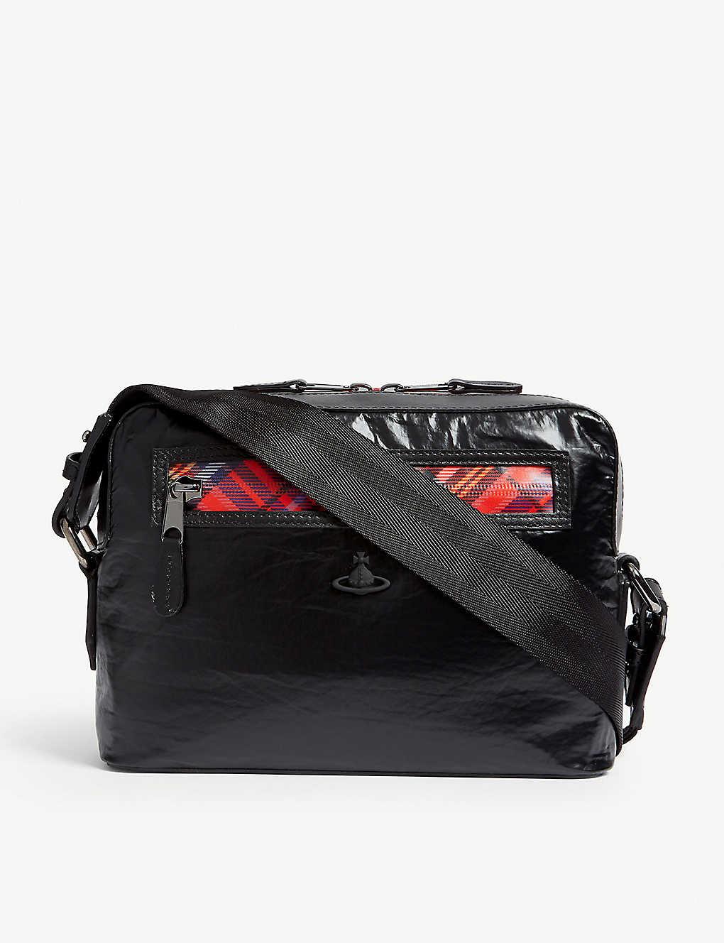 63169c389e VIVIENNE WESTWOOD - Wimbledon leather messenger bag