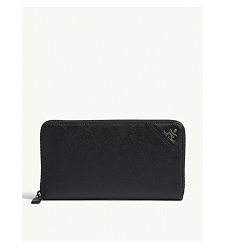 ad748a1fc685 france prada contrasting corner saffiano leather card holder women wallet  accessories yxhopilz8 96867 403e3; purchase prada saffiano leather travel  wallet ...