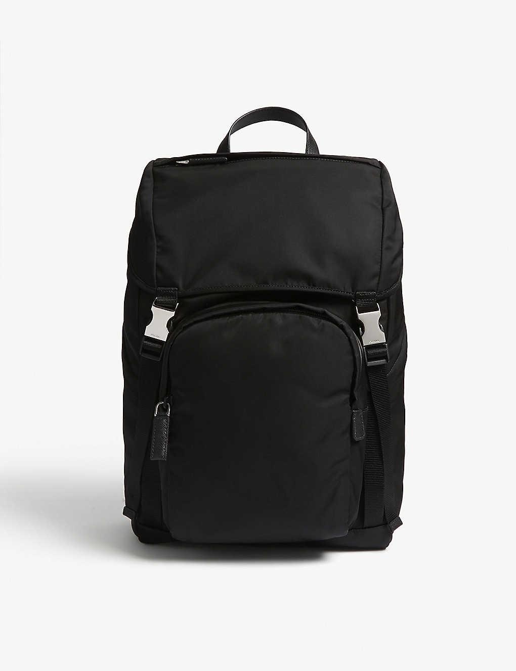 2365a879b788 PRADA - Nylon technical backpack