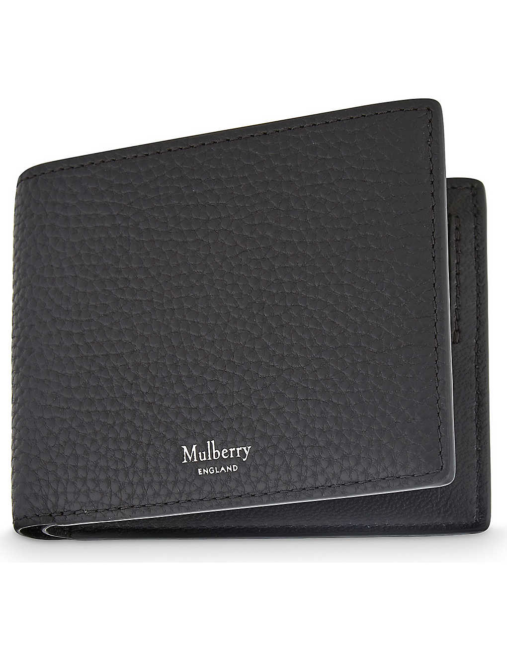 38cb338a3599 MULBERRY - Grained leather billfold wallet
