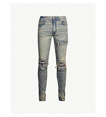 Mx1 Ripped Slim Fit Skinny Jeans by Amiri