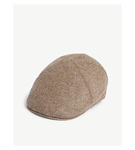 1fd12b06e73 BATES HATS - Roma wool flat cap