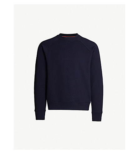 Logo Patch Cotton Jersey Sweatshirt by Ps By Paul Smith