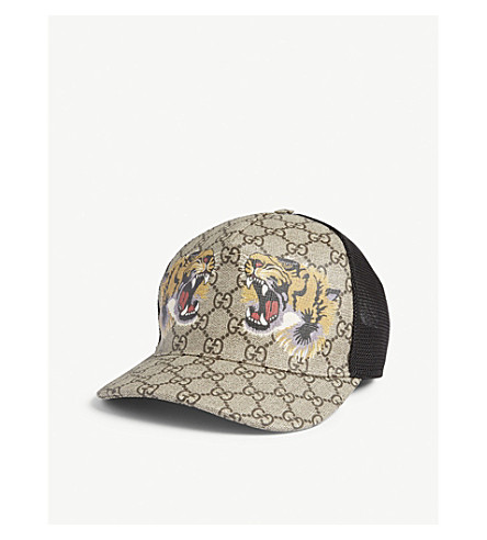 ... GUCCI Tiger baseball cap (Dark+brown. PreviousNext c088a97b8b7