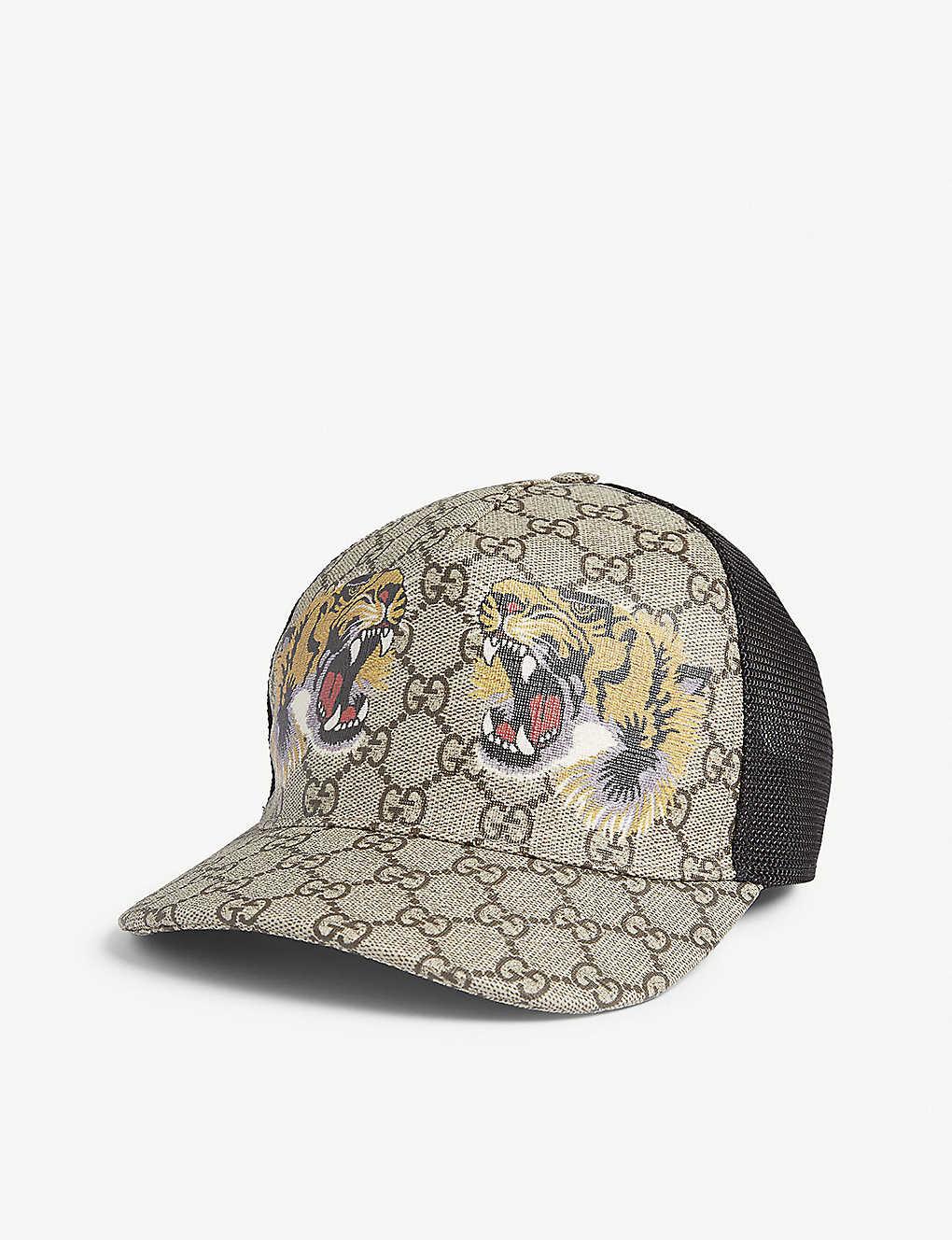 GUCCI - Tiger baseball cap  8c6e9baf8aa