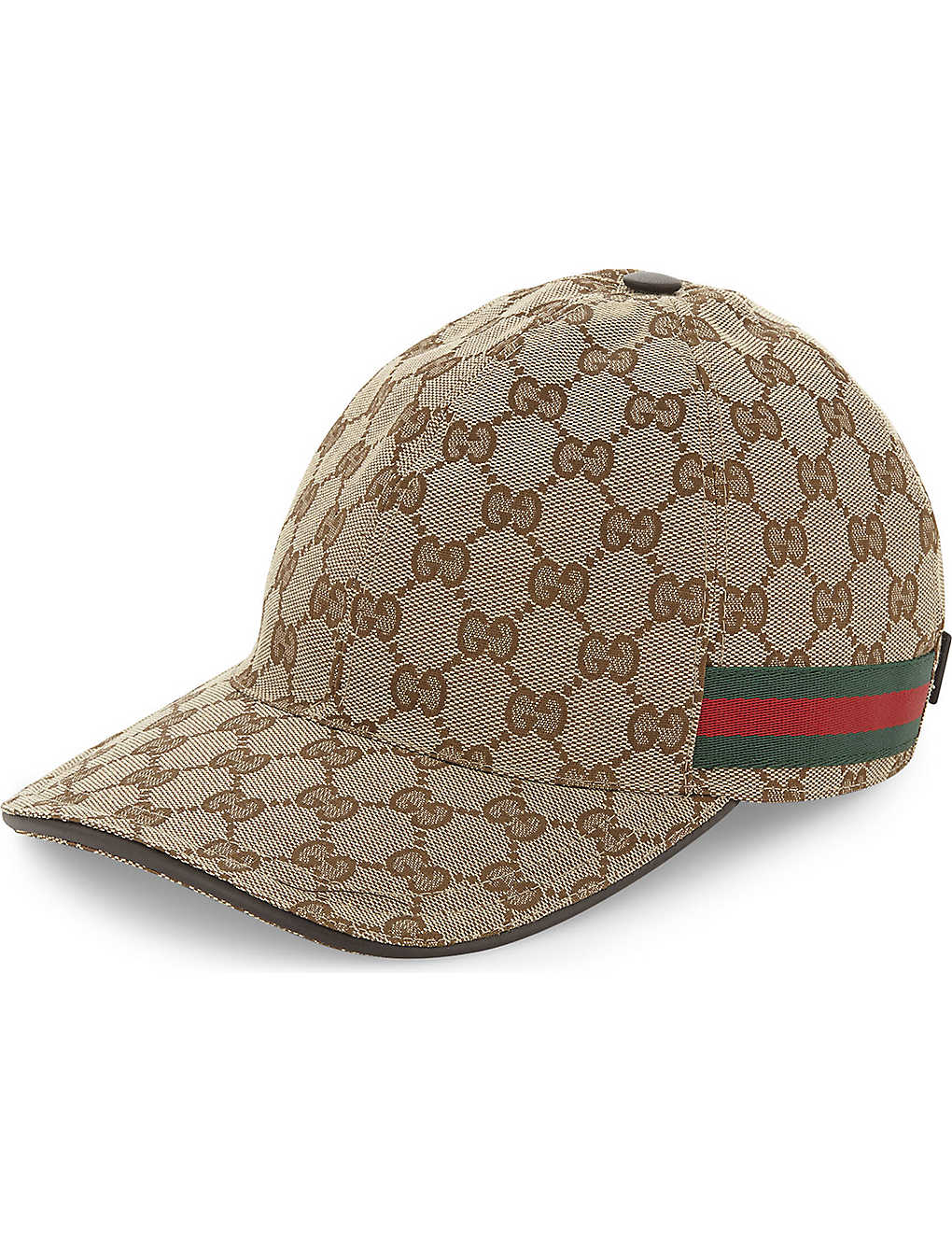 GUCCI - GG Web stripe baseball cap  94552ed2c2e9
