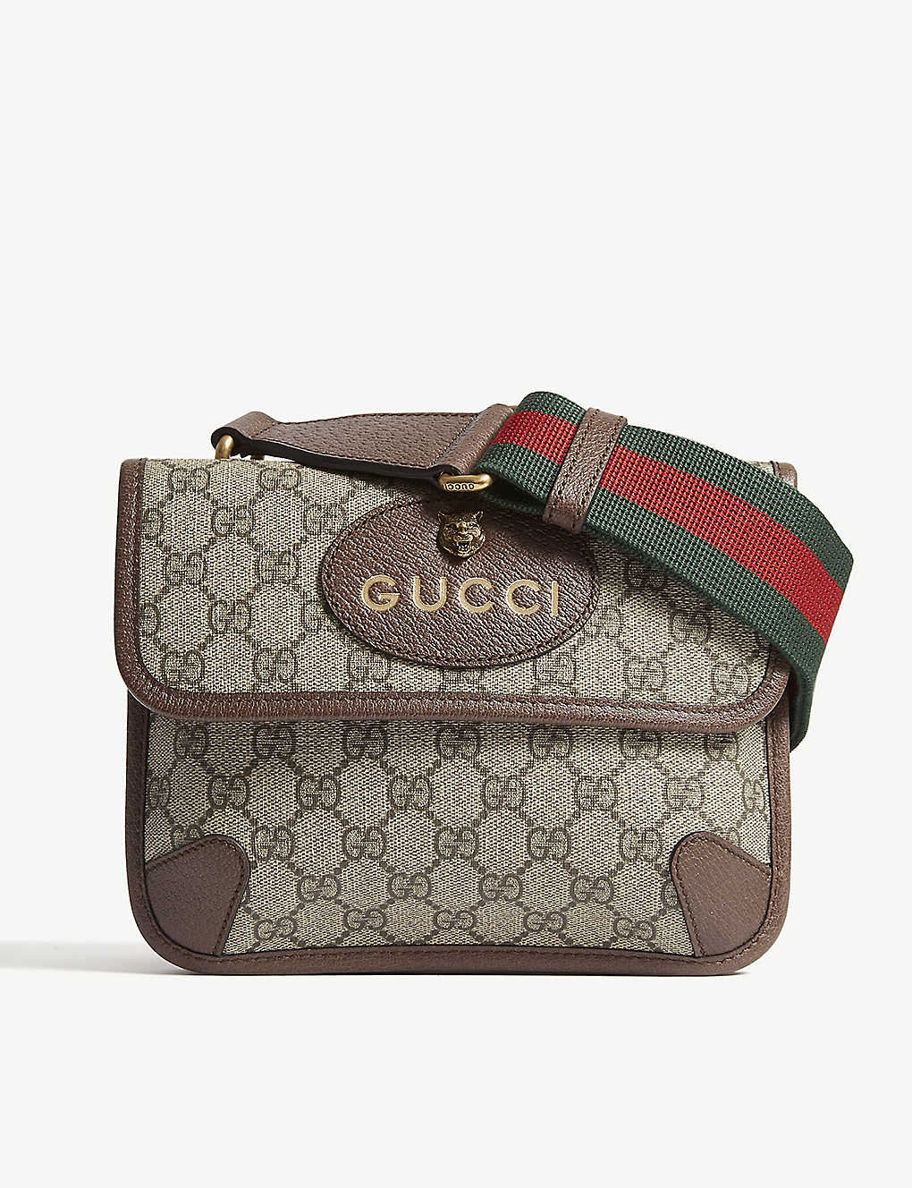 GUCCI - GG Supreme cross-body bag  b121674f2b61d