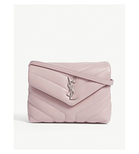 d94968720ebc ... SAINT LAURENT Monogram Loulou quilted leather cross-body bag  (Tender+pink. PreviousNext
