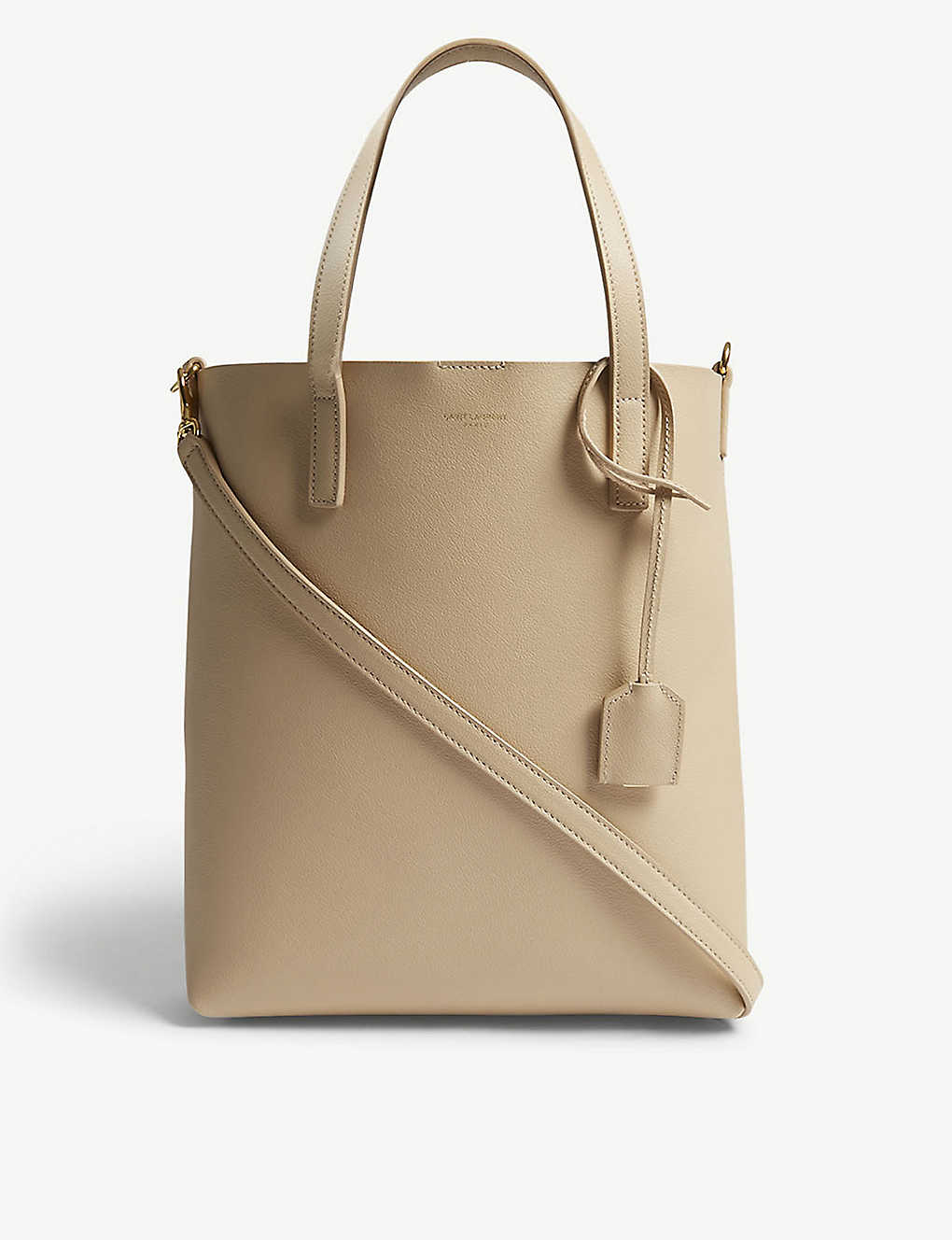 SAINT LAURENT - Toy North South leather tote  92f368870fdf6