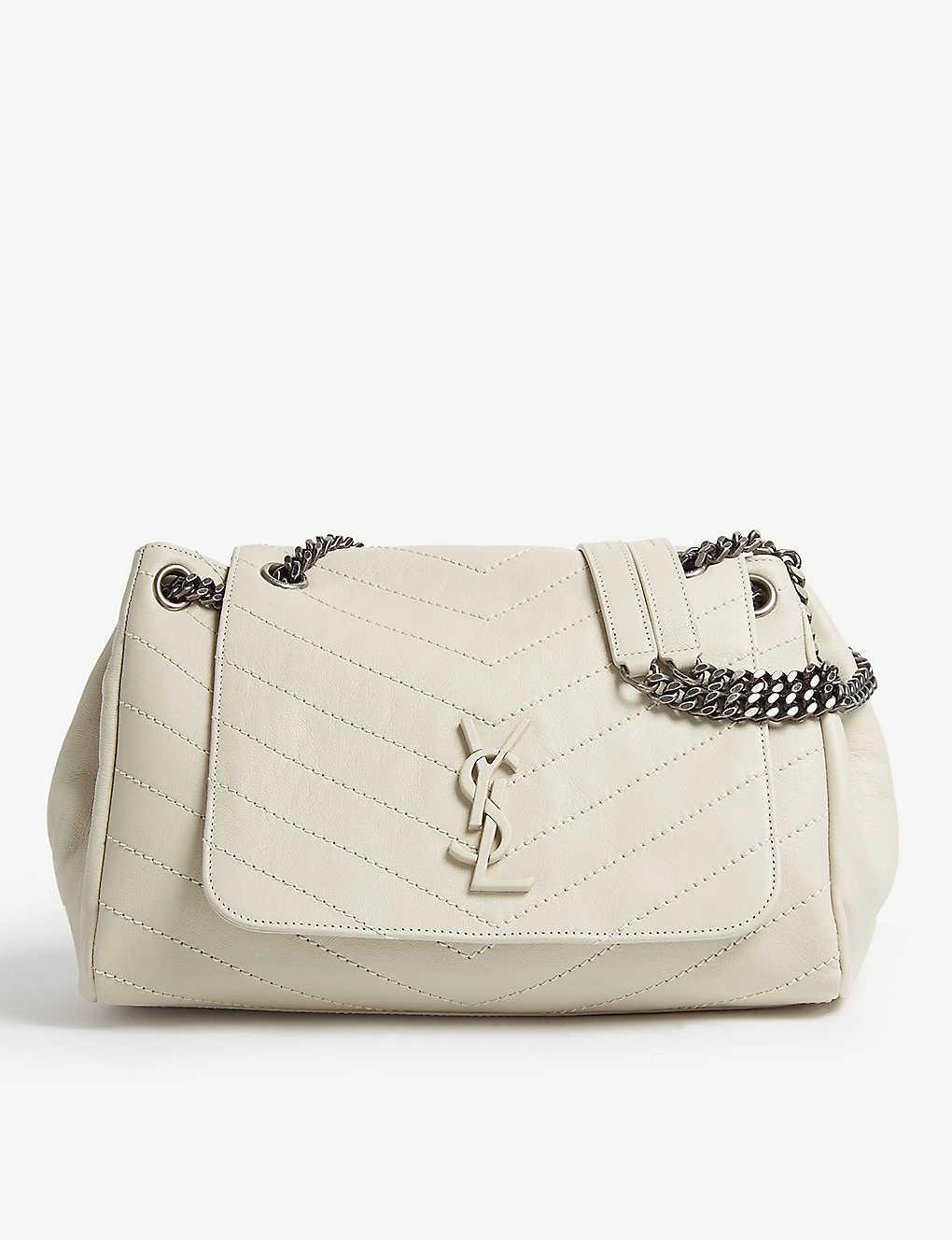 579599ed93f0 SAINT LAURENT - Nolita monogram medium leather shoulder bag ...